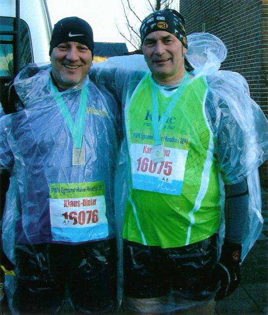 Halbmarathon in Egmond mit Vitargo