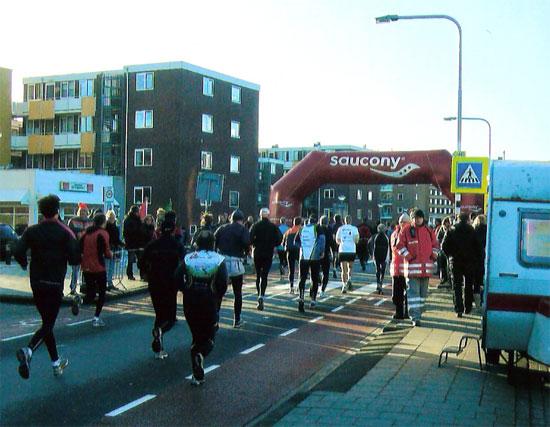 Halbmarathon in Egmond mit Vitargo - Impressionen / Eindrücke - Laufstrecke