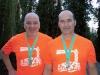 Halbmarathon in Egmond mit Vitargo - Finisher Klaus Link und Karl Heinz Lindemann