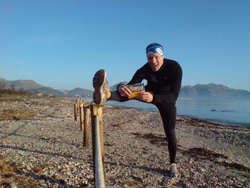 Strandlauf mit Vitargo