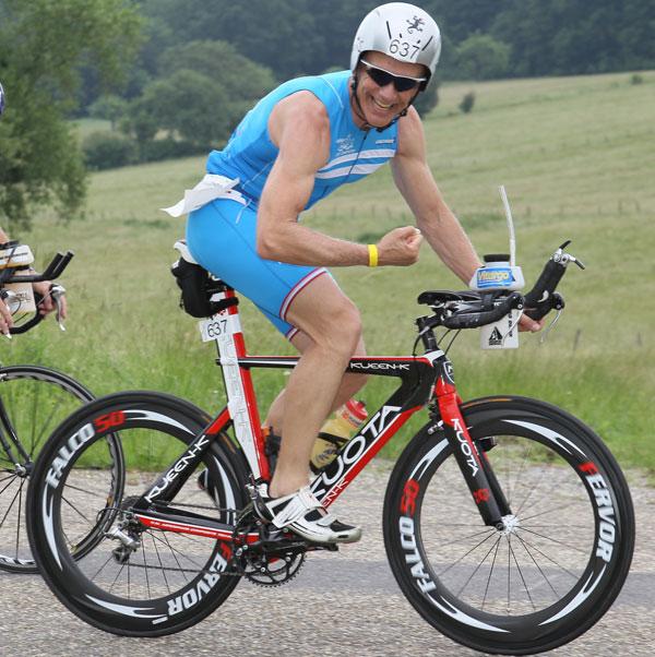 Hartmut Andres - Vitargo Sportler testet Gel bei der Challenge in Frankreich