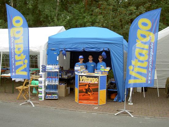 Sassenberg Feldmark Triathlon - Vitargo vor Ort