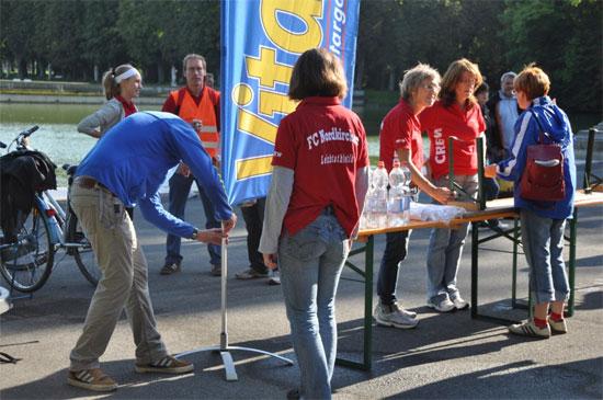 Vitargo vor Ort beim Halbmarathon in Nordkirchen 2010!