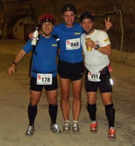 Untertage Marathon Sondershausen - Finish mit Vitargo Sportlern