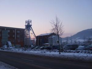 Untertage Marathon Sondershausen im Schnee