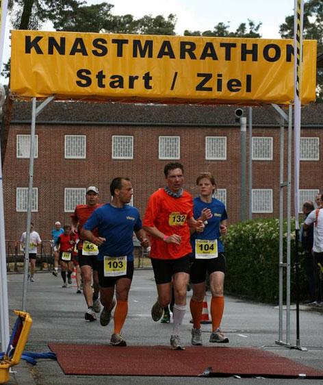 Vitargo Team Knastmarthon Start/Zielbereich