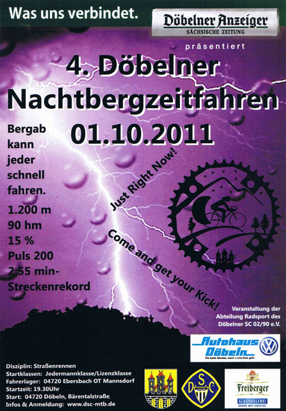 Dbelner Nachtbergzeitfahren 2011