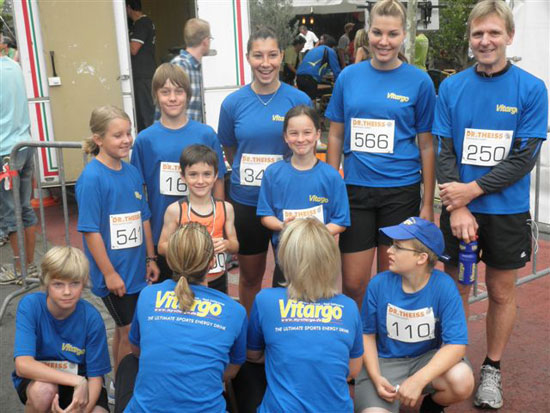 ERC Homburg mit Vitargo Shirt beim 9. Citylauf in Homburg