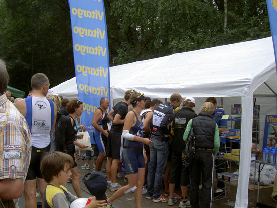 Mit Vitargo beim Sassenberg Triathlon 2011