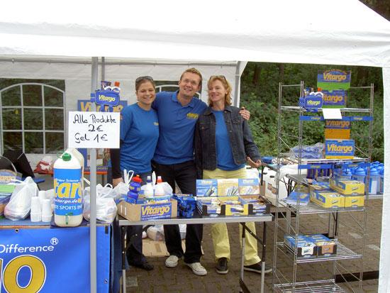 Mit Vitargo beim Sassenberg Triathlon 2011