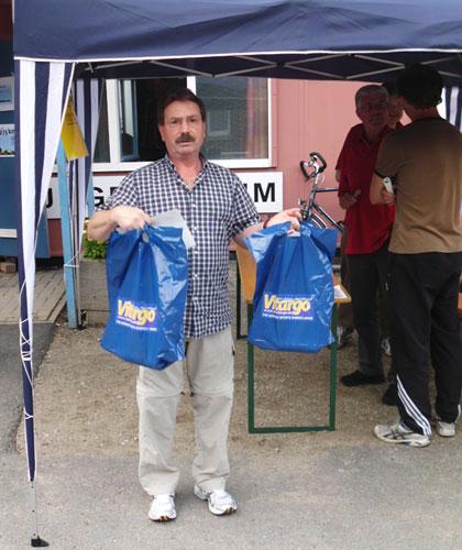 Vitargo Finisher Tüte Halbmarathon Nordkirchen