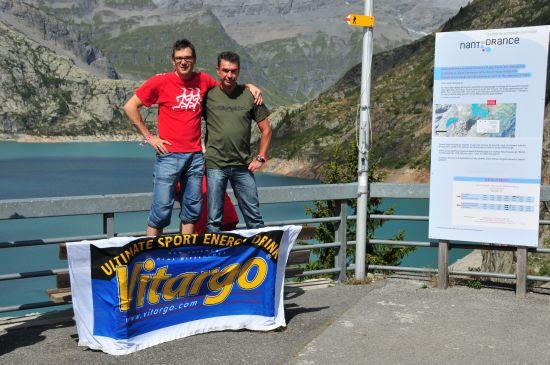Mit Vitargo erfolgreich beim UTMB Trail 2011 - Olli Binz und Willi Melcher