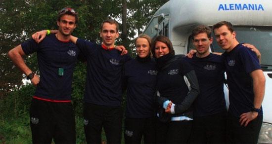 Das Multisport Adventure Team gewinnt mit Vitargo die German Series
