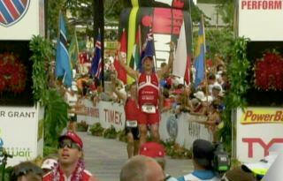 Jörg Panter Vitargo Sportler erfolgreich beim Ironamn Hawaii 2011 in Kona