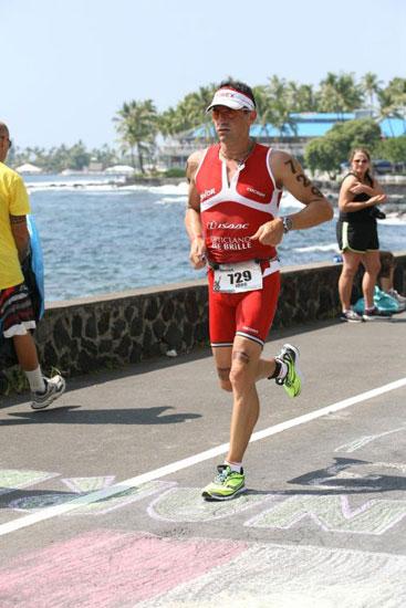 Jörg Panter mit Vitargo beim Ironman Hawaii 2011