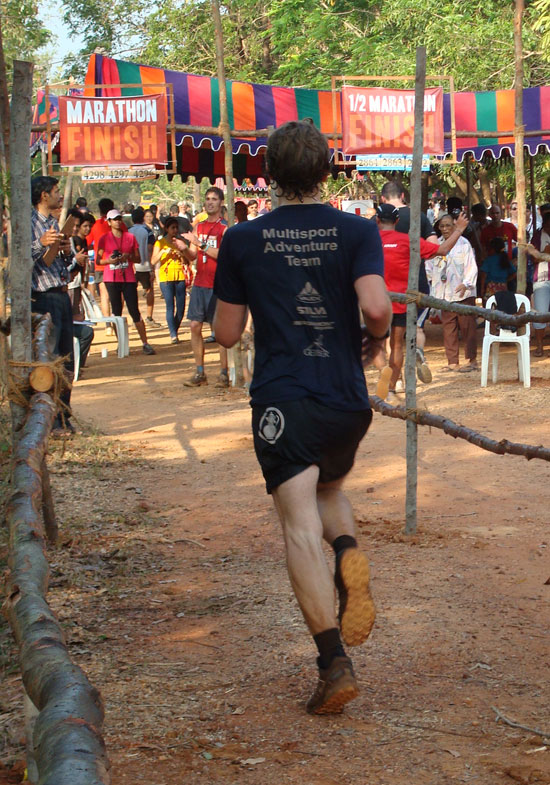 Multisport Adventure Team mit Vitargo beim Marathon in Indien