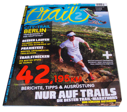 Trail Magazin Cover 2012