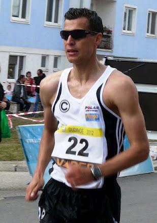 Vitargo Sportler Maik Berger beim 50 KM gehen