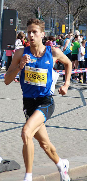 Vitargo Sportler Paul Schmidt erfolgreich beim Citylauf Dresden 2012