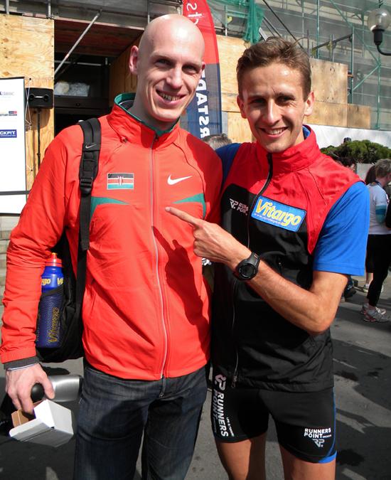 Paul Schmidt mit Vitargo erfolgreich beim Dresden Marathon