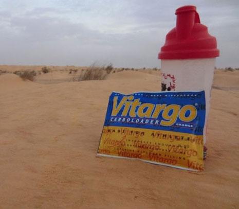 Mit Vitargo in der Wüste - Martin Jansen
