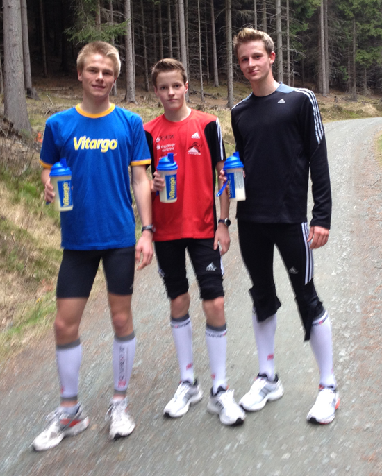 Mission Laufen Team erfolgreich mit Vitargo - Toni Riediger, Arne Jhnigen, Oliver Grundmann, Maik Werner, Toni Schurig, Erik Wetzstein