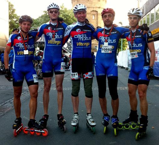 CadoMotus MERC Team mit Vitargo erfolgreich