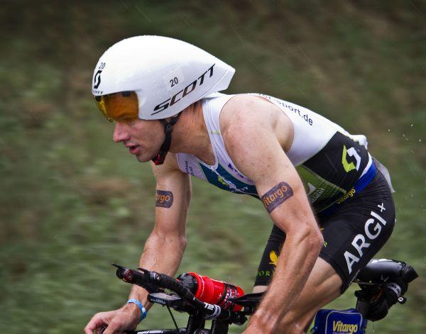 Stefan Schmid beim Ironman Frankfurt 2012