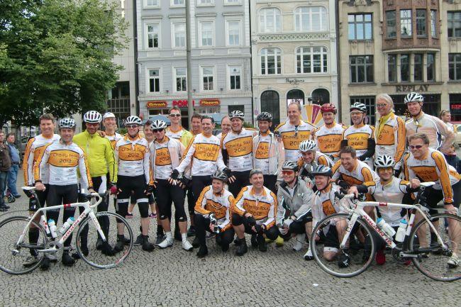 Charity Tour 2012 - Vitargo hat die Tour mit Vitargo Produkten unterstützt