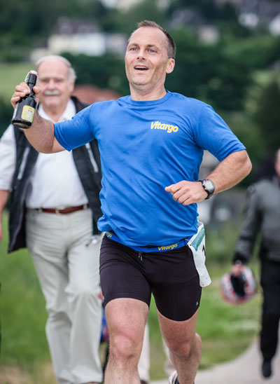 Vitargo Sportler Joachim Krause beim LiDoMa - Marathon in Dortmund 2012
