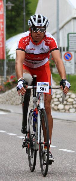 Vitargo Sportler Tino Kässner bei dr Trans Alp 2012