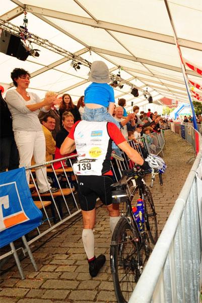 Rainer Steinberger beim 24 Stunden Rennen in Kelheim mit Vitargo unterwegs