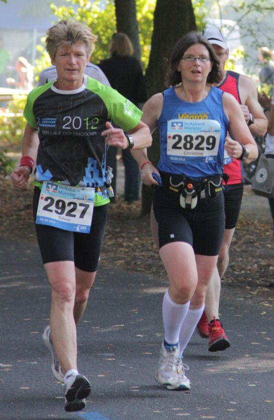 Team Vitargo beim Münster Marathon 2012