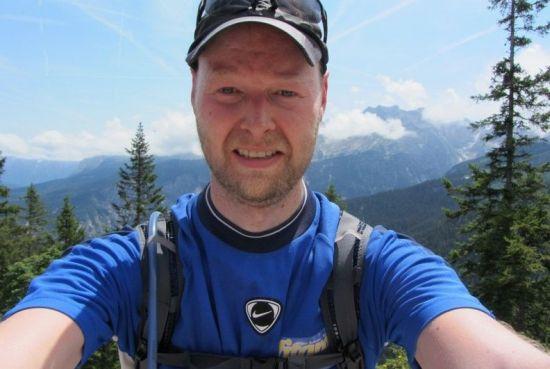 Martin Jansen mit Vitargo bei den 4 Salomon Trails