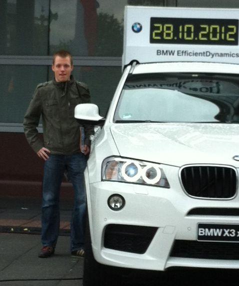 Vitargo Sportler Jens Ziganke erfolgreich beim frankfurt Marathon