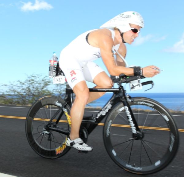 Rainer Steinberger mit Vitargo beim Ironman Hawaii 2012