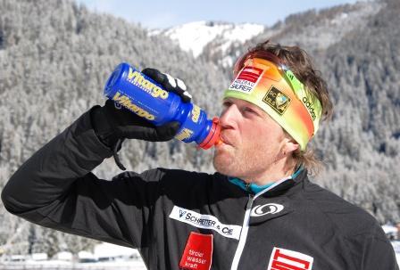 Thomas Steurer - Vitargo im Langlauf