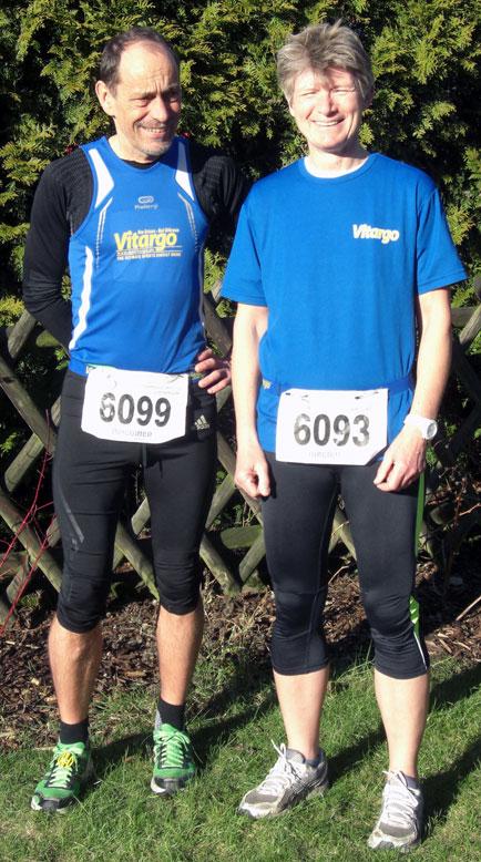 Vitargoo Sportler Karl und Silvia erfolgreich beim 6 Stunden Lauf in Münster