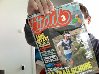 Trail Magazin am Kiosk