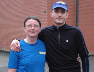 Vitargo Weg zum Rennsteig  - Holger und Christine