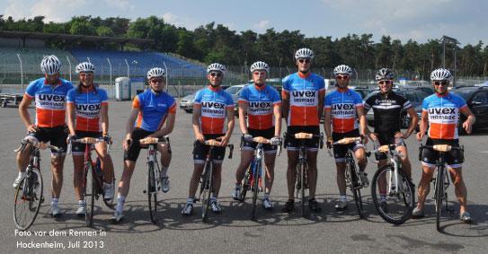 Team Uvex Vermarc setzt auf Vitargo