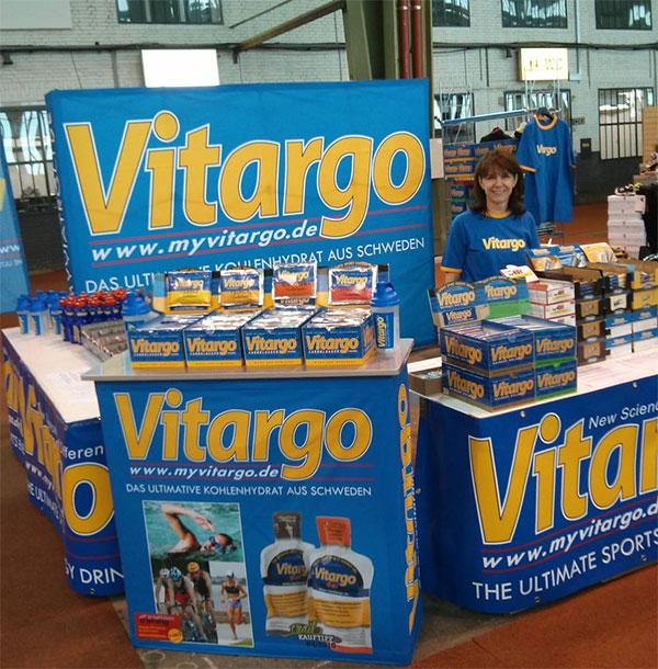 Vitargo Stand Berlin Marathon Messe 2013