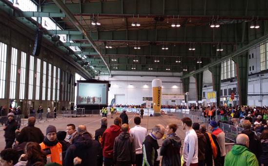Berlin Marathon Staffel 2013