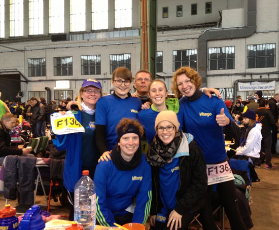 Berlin Marathonstaffel Team Vitargo 2013