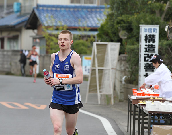 Jens Ziganke mit Vitargo beim Kasumigaura Marathon
