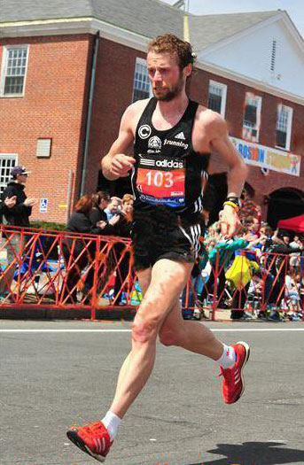 Marc Schulze Boston Marathon Vitargo