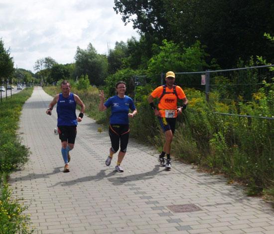 Mit Vitargo bei den 100 Meilen von Berlin - Mauerweglauf