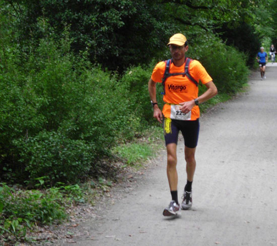 Mit Vitargo beim Rothaarsteig Marathon
