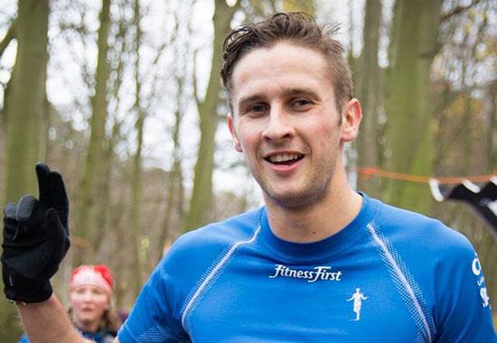 Paul Schmid beim Dresden Marathon 2014