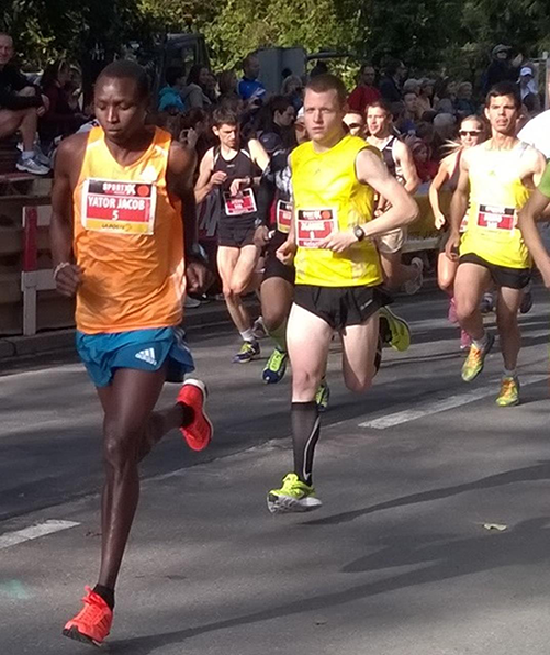 Mit Vitargo beim Lausanne Marathon
